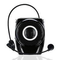TAKSTAR E7M 15W mini Black fashion loudspeakers  Amplifier with mic mini voice megaphone for teaching meeting tour guide TF U
