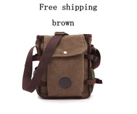 2013 new canvas bag casual man bag Men Shoulder Messenger Bag Free shipping