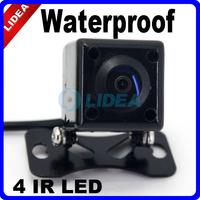 High Quality 4 IR LED Rearview Back up 170 Degree Angle 420TVL Waterproof Car Camera CN QS-12