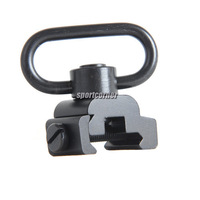 Tactical Rifle Swivel Quick Detach Mount QD Sling Attachment 20mm Picatinny Rail
