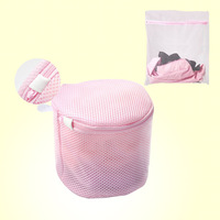 Double layer folding underwear nursing bra wash bags Large laundry bag set