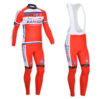 2013 katusha Team Cycling Jersey/Cycling Wear/Cycling Clothing  long sleeve  long pants Long (BIB) suit-katusha-1C