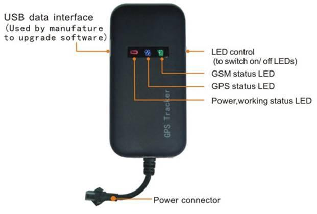 Guaranteed 100% 4 band car GPS tracker GT02A Google link real time tracking free shipping(China (Mainland))