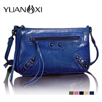 Women's handbag motorcycle bag fashion bags small Small 2013 messenger bag one shoulder day clutch