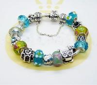 Charm Chamilia bracelet 925 sterling silver crystal pendant bracelet for woman,925 silver bracelets