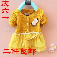 Children's clothing 2012 children's female clothing outerwear top female child children child
