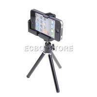Black Portable Mini Tripod Stand for Mini projector Camera Camcorder Mobile phone iPhone 4 4s 5 5G