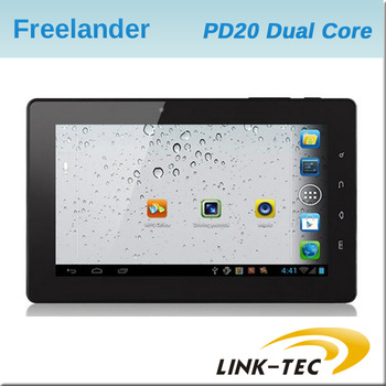 New Freelander PD20 great 7.0'' capacitive screen 8G+1G Telechips Dual Core 1.2GHz android 4.0 wifi hdmi tablet pc E