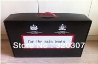 gift box for rain boots  rain shoes box,just box