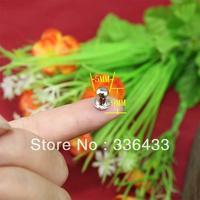 Mini three pacifiers nail jewelry box handle