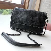 Bag 2013 women's fashion handbag all-match chain small bags crocodile pattern messenger bag
