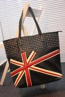 Fashion fashion 2013 torx flag rivet big bags shoulder bag handbag women bag