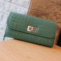2013 clutch fashion knitted wallet clutch multi card holder wallet female vintage zipper bag mobile phone bag