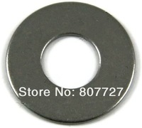 New Stainless Steel Metric Flat Washer 100/PCS 4MM Free Shipping