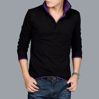 2013 autumn men's clothing long-sleeve T-shirt male clothes long-sleeve shirt plus size plus size top extra large