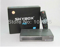 Original Skybox F4S 1080P HD PVR FTA Satellite Receiver, Support GPRS Sharing  VFD Display support usb wifi weather  forecast
