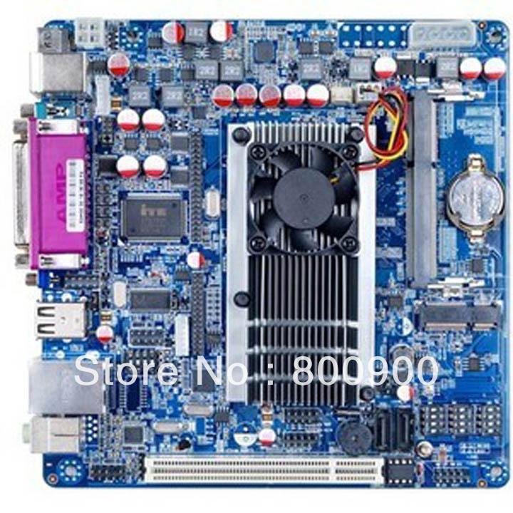 12V d2550 ITX LVDS 5COM PCI slots D2550 mini itx htpc hd motherboard(China (Mainland))