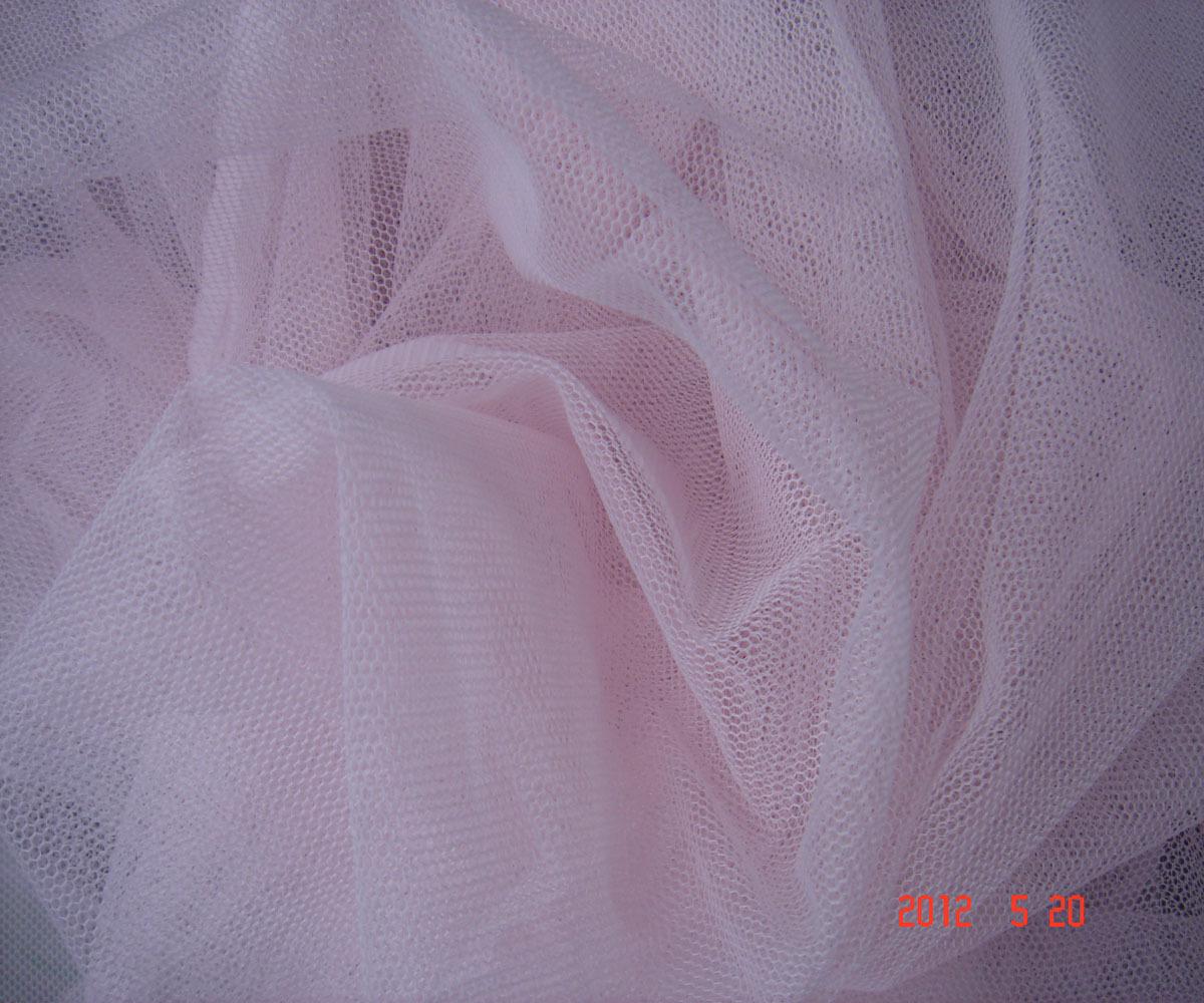 pink lace yarn mesh mosquito net veil cape dress formal dress