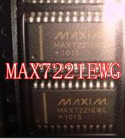 Original MAX7221 MAX7221EWG SOP-24 10pcs/lot MAXIM MAX7221 Free Shipping