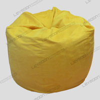 FREE SHIPPING adult bean bag chairs no filling drop bean bags light pink SUEDE INDOOR bean bag couch kids bean bags