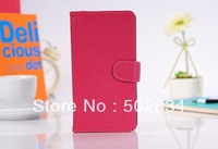 1pc Genuine Leather Case Wallet Cover ID Card Slot for Samsung Galaxy Note 3 III N9000 N9005