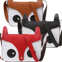 2014 new anim fox shoulder bag; girl's lovely cute handbag;women fashion messenger bags;gismo cartoon handbags; kid girl bolsa