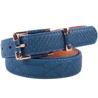 2014 all-match fashion crocodile pattern genuine leather women's strap belt