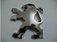 Peugeot emblem mark of 207 emblem 206 emblem 307 lion