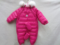 Baby  winter down coats  infants  Down jacket coat romper