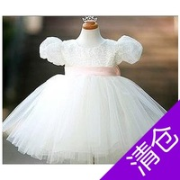 Child princess dress child female wedding dress  girl formal dress child costume
