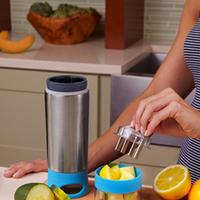 Cup stainless steel citrus lemon zinger cqua emperorship manual cup insulation bottle vitality