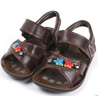 2013 Free shipping New leather sandals children shoes baby boys leather sandals