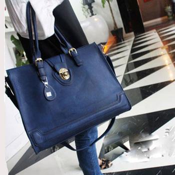 2013 women's fashion handbag fashion vintage messenger bag one shoulder big bags portable bag messenger bag