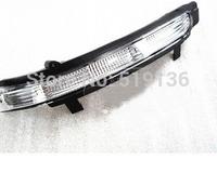 Skoda Superb 2013 Big Ears Led Rearview Mirror Lights Reflective Mirror Side Steering Lamp Original Part