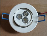 2013 wholesale 3w 5w led  ceiling light white shell,Sitting room,bedroom,study room,kitchen lights 100pcs/lot free DHL