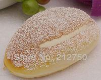 2pcs/lot artificial cream bread fake hamburger restaurant shop market decorations free shipping