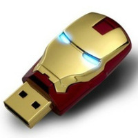 2013 Marvel Avengers Movie Iron Man Mark Iv 64gb Usb2.0 Flash Drive Tony Stark