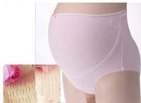 Free Shipping High Quality Women 100% Cotton Maternity Panties Adjustable Waist Nursing Panties