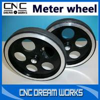 Gauge meters wheel 95mm diameter aluminum alloy wheels encoder gauge meters wheel Perimeter 300mm CN734