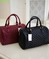 X8 mango mng new arrival fashion sewing thread small rivet bucket bowling bag laptop messenger bag Free Shipping