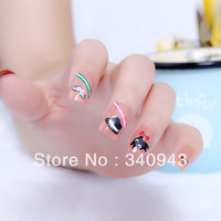 Free shipping Nail art supplies nail polish oil nail sticker nail art applique diy accessories 3d three-dimensional