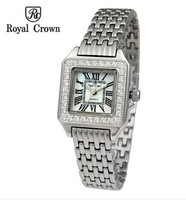 Royal Crown Crystal Diamond Fashion Style Ladies Rhinestone Brand Quartz Watches Luxury Famous Brand Watch Women 2014
