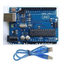 UNO R3 2012 development board MEGA328P ATMEGA16U2 Arduino Compat + USB Cable