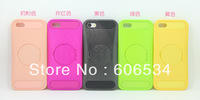 Free shipping Mirror soft case for Phone 5C case new arrival with Mirror holder Phone 5C case 9 colors mixed