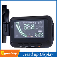 New Arrival Universal ActiSafety Multi Car HUD Vehicle-mounted Head Up Display System OBD II Fuel Consumption Overspeed Warning