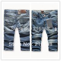 2013 New children 's jeans cotton Denim kids jeans girls pants baby trousers size:2/3t 3/4T 4/5T 5/6T 7/8T 9/10 TLJ240