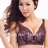 New 2013 fall new sexy V-shaped bra underwear bra gather adjustable bra-end closing Furu 34A / B 36A / B 38A / B