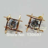 Stud earrings gold plated fashion jewelry interstellar free shipping