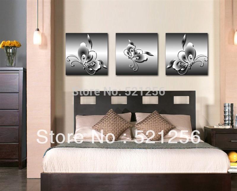 Online kopen wholesale witte vlinder foto 39 s uit china witte vlinder foto 39 s groothandel - Verf modern muur ...