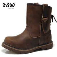 FREE SHIPPING!  leisure high help man army leather shoes,crazy horse leather boots,shock, breathable insole